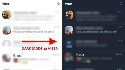 Viber Dark Mode kako se aktivira, Kako aktivirati Viber Dark Mode, Kako uključiti Viber Dark Mode
