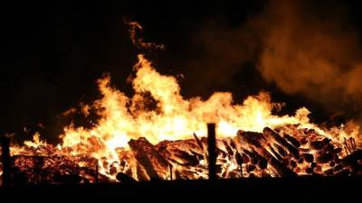 požar, vatra, vatrogasci, Incel