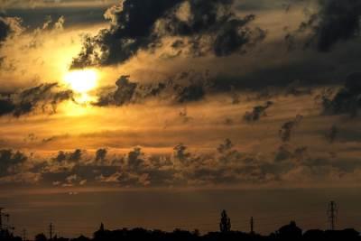 sunce, oblaci, zora, svitanje, zalazak sunca