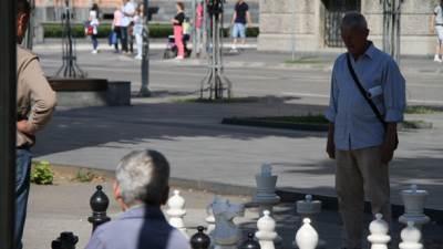 šah, penzioneri