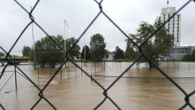 Prijedor, poplave, Sana