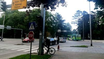 Banjaluka, raskrsnica, saobraćaj