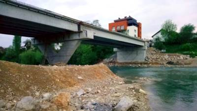 zeleni most, most, vrbas, beton, zemlja