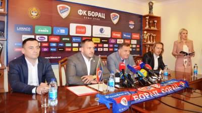 Vico Zeljković, Milorad Dodik, FK Borac