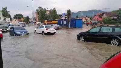 Lauš, poplava, nevrijeme