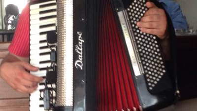 harmonika, kafana