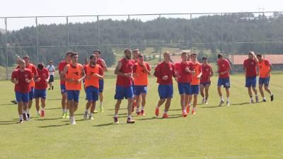 Pripreme Borca na Zlatiboru, FK Borac pripreme