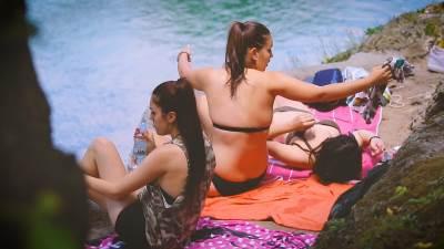 plaža, kupanje, kupačice, sunčanje, Vrbas