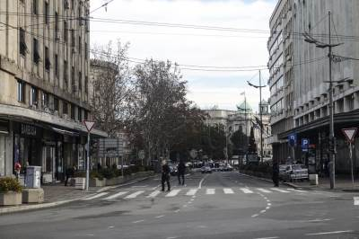 puste ulice, ulica, saobraćaj, pešaci, pešački, terazije