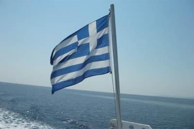 Grčka zastava more leto grci