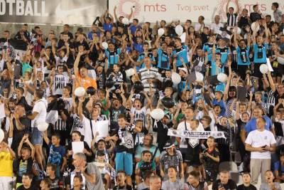 Partizan, djeca, navijači