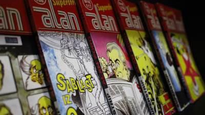 Agarthi Comics, stripovi, alan ford