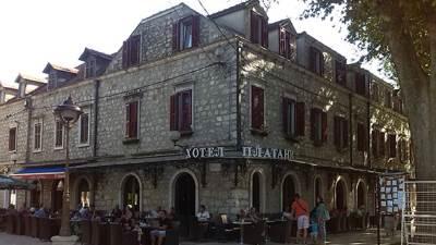 trebinje, hotel Platani