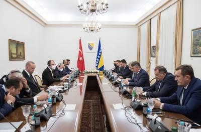 sastanak delegacija BiH i Turske