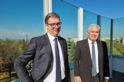 Dragan Čović i Aleksandar Vučić