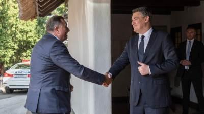 Milorad Dodik i Zoran Milanović