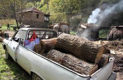 ćumur, ćumurana, peć, selo