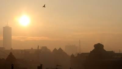 Beograd smog sunce