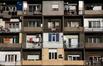 Novi Beograd, stara zgrada