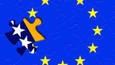 zastava, BiH, EU