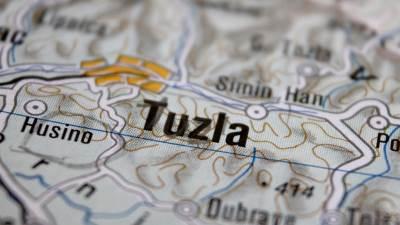 Mapa Tuzle, Tuzla