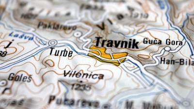 Mapa Travnika, Travnik