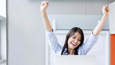 zena, kompjuter, posao